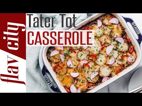 Mexican Tater Tot Casserole Recipe – Low Carb & Keto Approved