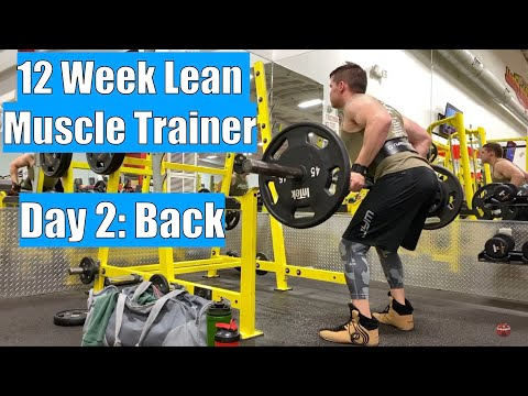 Workout Vlog Day 02 – Kaged Muscle 12 Week Lean Muscle Trainer – Back Day
