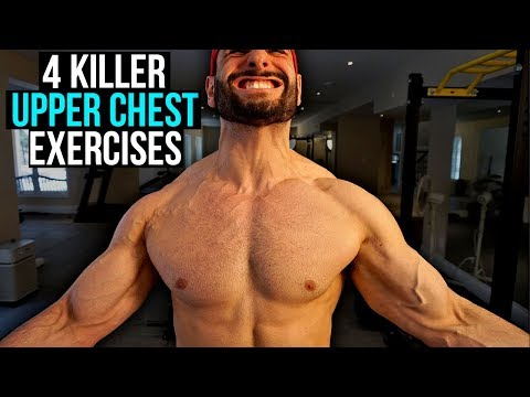 GRUESOME Upper Chest At Home Workout [4 KILLER Upper Pec Exercises]