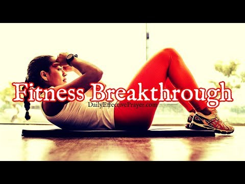 Prayer For Exercise & Fitness Breakthrough | Healthy Body Motivational Prayer