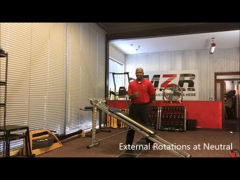 Total Gym Exercises for Rotator Cuffs
