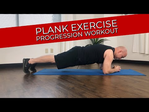 Sunny Health & Fitness Plank Exercise Progression Workout