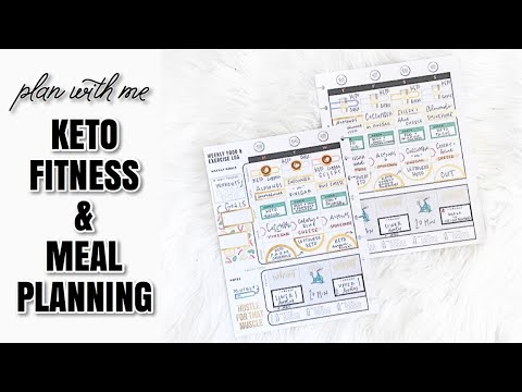 Meal Planning Monday: KETO Fitness and Meal Planning | At Home With Quita