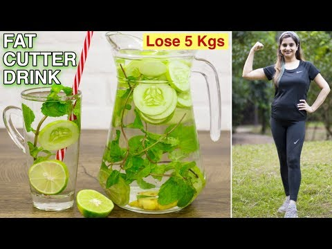 Flat Belly Diet Drink   Fat Cutter Drink   Healthy Recipes By Chef Kanak