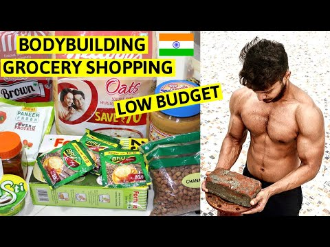 LOW BUDGET Bodybuilding GROCERY Shopping    Indian BODYBUILDING Diet Grocery   Indian Fitness