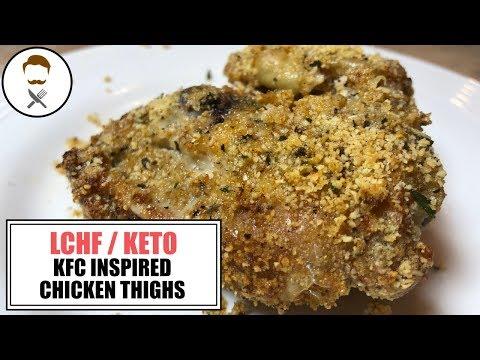 KFC Inspired Chicken Thighs || The Keto Kitchen