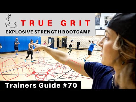 TRUE GRIT!!! Explosive Strength Bootcamp Workout | Trainers Guide #70