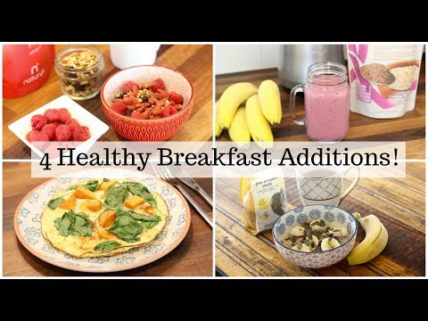 4 Breakfast Additions to Help you Stay Healthy! By Dietitian Nichola Ludlam-Raine #WinterWise ad
