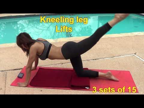 Victoria Secret Workout |  Leg extension Butt workout | Fitness tips Women workouts