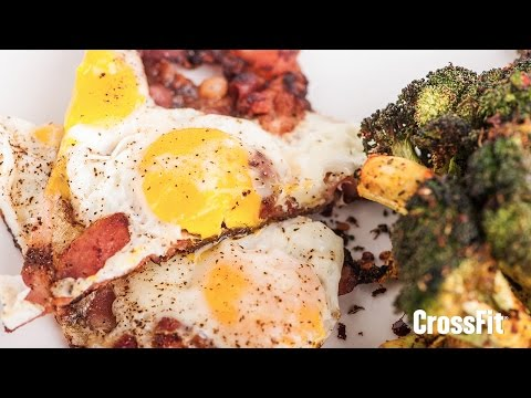 The CrossFit Kitchen: Breakfast Pizza