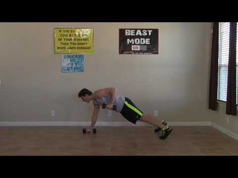 10 Min Home Back and Biceps Workout – HASfit Back Biceps Exercises – Back and Bicep Workouts
