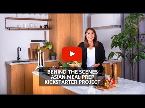 Asian Meal Prep, The Book, on Kickstarter