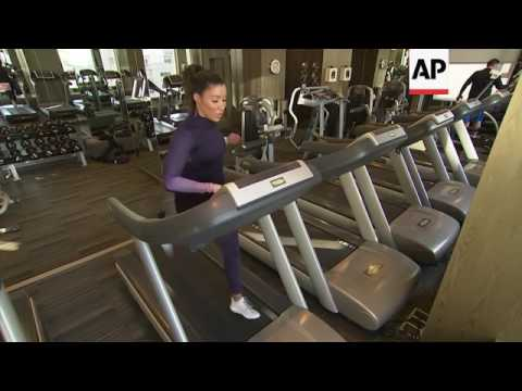 Treadmill workouts made fun by celebrity fitness trainer