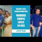 Weight Loss Transformation – Married Couple Loses 34 Kgs