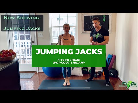 Jumping Jacks (Fit2Go Home Workout Library)