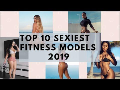 TOP 10 FEMALE FITNESS MODELS   2019