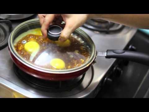 Egg recipes Indian style – HEALTHY PAV BHAJI – High protein SHAKSHUKA