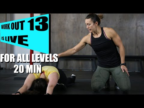 FREE HOME Workouts for all levels to help crush 2020 Fitness with Margaux Alvarez – Workout 13