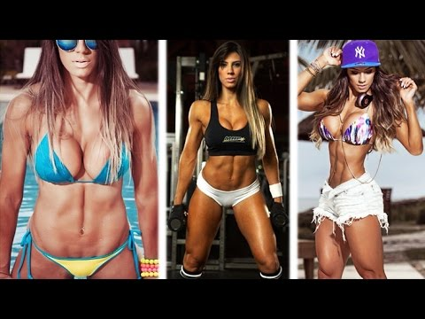 CAROL SARAIVA – Fitness Model: Exercises to Tone and Define The Body @ Brazil