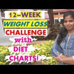 WEIGHT LOSS CHALLENGE IN TAMIL | INDIAN DIET PLAN, TIPS FOR WEIGHT LOSS | KETO LOW-CARB DIET- WEEK 1