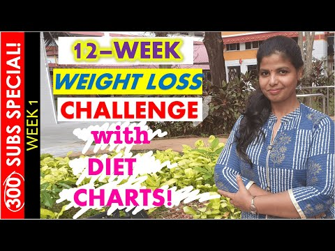 WEIGHT LOSS CHALLENGE IN TAMIL   INDIAN DIET PLAN, TIPS FOR WEIGHT LOSS   KETO LOW-CARB DIET- WEEK 1