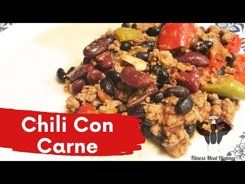 Healthy recipes Chili Con Carne for weight loss