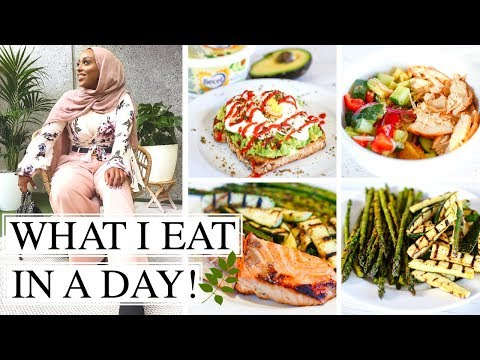 WHAT I EAT IN A DAY 2018 | Healthy Summer Recipes! | Aysha Abdul