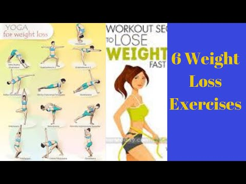 Weight Loss Exercises – 6 Weight Loss Exercises