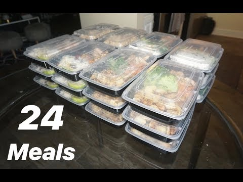 Meal Prepping for Beginners! (24 meals for 2)