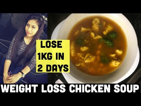Lose 1kg in 2 Days | Weight loss chicken soup recipe | Azra Khan Fitness