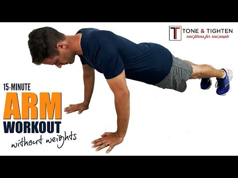 15-Minute At Home Arm Workout Without Weights – No Equipment Required!