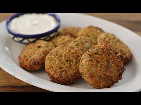 Healthy Tuna & Quinoa Patties Recipe