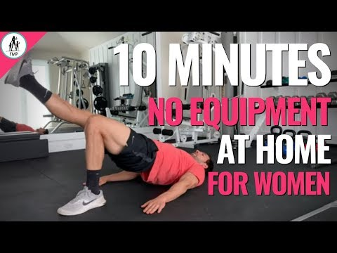 10-Minute Workout For Women at Home (No Equipment!)