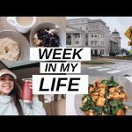 COLLEGE WEEK IN MY LIFE | healthy meal + self-care ideas