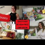 Gousto Box Review | Week Of Meals + ALDI Price Comparison