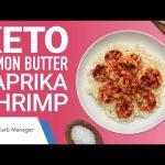 Keto Lemon Butter Paprika Shrimp Recipe