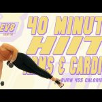 40 Minute HIIT Arms and Cardio Workout 🔥Burn 455 Calories!* 🔥The ELEV8 Challenge | Day 21