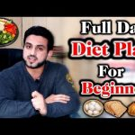 Diet Plan For Beginners Urdu/Hindi