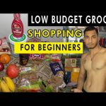 Low Budget Indian Bodybuilding Grocery Shopping For Beginners | Beginner Gym Diet Grocery Part-(1)
