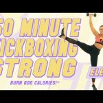 50 Minute Kickboxing Strong Workout! 🔥Burn 600 Calories!* 🔥The ELEV8 Challenge | Day 17