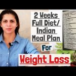 2 Weeks Indian Diet / Meal Plan | Vegetarian Weight Loss Diet | What I eat in 2 Weeks | Hindi